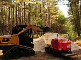 Canycom SC75 Rubber Track Concrete Buggy - picture0' - Click to enlarge