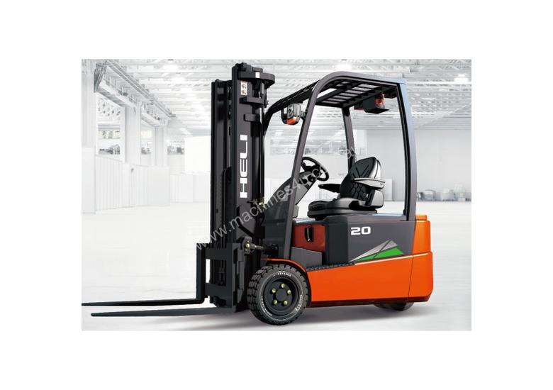 THREE WHEEL FRONT WHEEL DRIVE ELECTRIC FORKLIFT