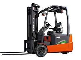 THREE WHEEL FRONT WHEEL DRIVE ELECTRIC FORKLIFT - picture1' - Click to enlarge