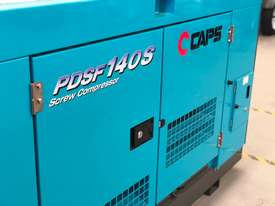 AIRMAN PDSF140S-5C3 High Pressure 140cfm Portable Diesel Air Compressor - picture3' - Click to enlarge