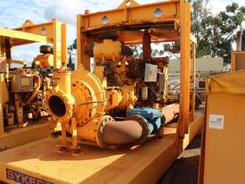 sykes CP 3001i water  pump  ,2012model , low hours , mine spec , C9 acert cat powered - picture0' - Click to enlarge