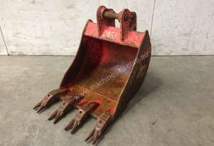 400MM TOOTHED DIGGING BUCKET TO SUIT 1-2T EXCAVATOR D851