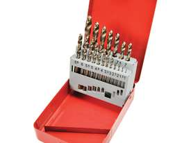 Cobalt Steel Drill Set 1-10mm 19 pce - picture2' - Click to enlarge