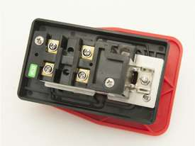 Push Button Mechanical Switch with Cover and E-Stop Paddle - picture4' - Click to enlarge
