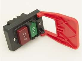 Push Button Mechanical Switch with Cover and E-Stop Paddle - picture7' - Click to enlarge