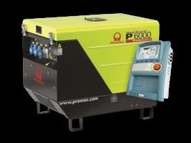 Pramac 6kVA AVR Silenced Auto Start Diesel Generator (NON-AVR) + AMF - picture15' - Click to enlarge