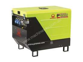 Pramac 6kVA AVR Silenced Auto Start Diesel Generator (NON-AVR) + AMF - picture3' - Click to enlarge
