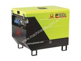 Pramac 6kVA AVR Silenced Auto Start Diesel Generator (NON-AVR) + AMF - picture13' - Click to enlarge