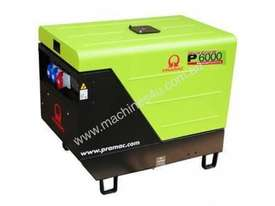 Pramac 6kVA AVR Silenced Auto Start Diesel Generator (NON-AVR) + AMF - picture16' - Click to enlarge