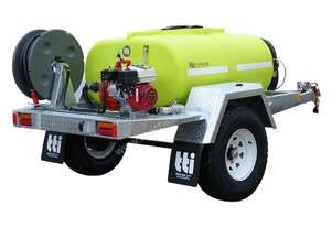 FirePatrol15 800L - On Road Braked Trailer
