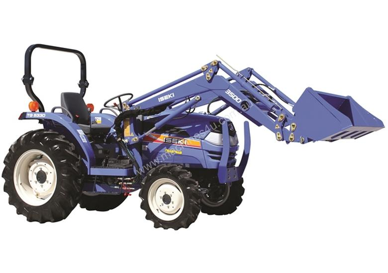 Iseki TG6370 36hp tractor with front end loader- one only