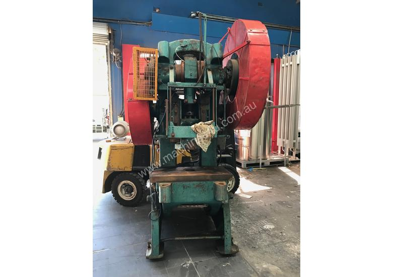 mechanical inclinable press