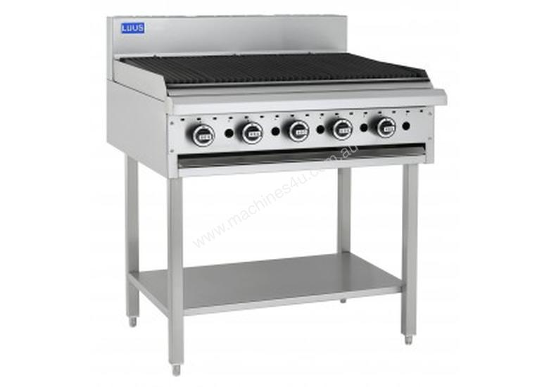 Luus Essentials Series 900 Wide Grills & Chargrills 900 grill & shelf
