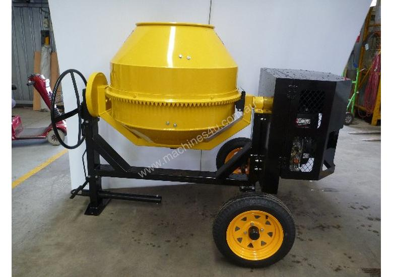 NEW BMAC TOOLS 21 CUBIC Ft DIESEL CEMENT MIXER