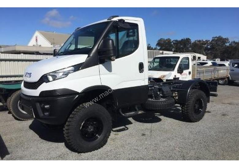 2017 Iveco Daily 55s17 4x4 2 Door Cab Chassis