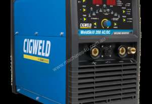 Cigweld Weldskill High Frequency 200amp DC TIG-MMA Inverter With TIG Torch (W1008200)