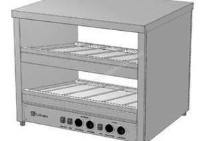 Culinaire CH.HFS.A.2.1200 Angled Hot Food Slide - Dual Slide Model