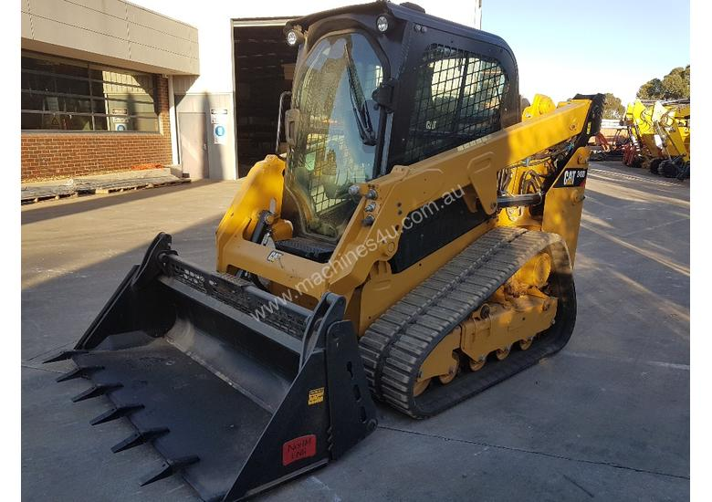 2016 CAT 249D TRACK LOADER WITH LOW 306 HOURS