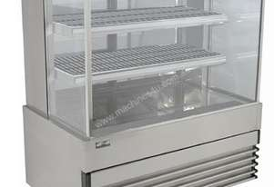 Koldtech KT.SQHCD.9 Square Glass Heated Food Display Cabinet - 900mm