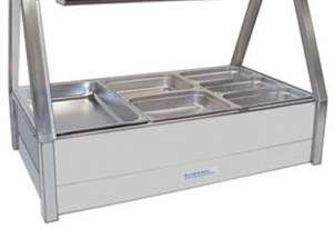 Roband EFX24RD Cold Food Display Bars - Cold Plate & Cross Fin Coil - Piped and Foamed Only