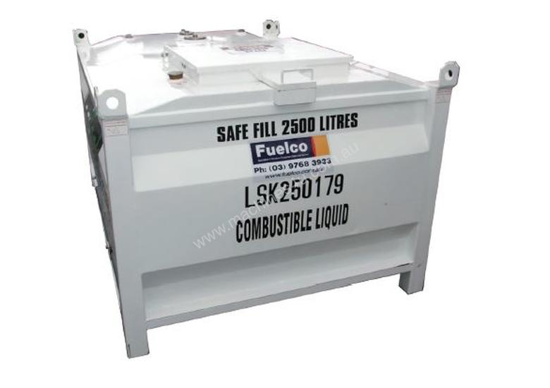 1000L Self Bunded Tanks - Suitable for diesel, petrol, engine oils & waste oil