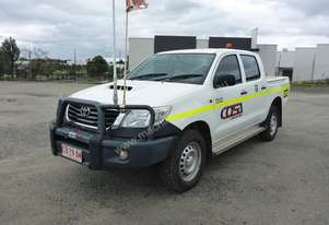 2014 Toyota Hilux SR (KUN26R) 4x4 Crew Cab Well Body Utility - In Auction