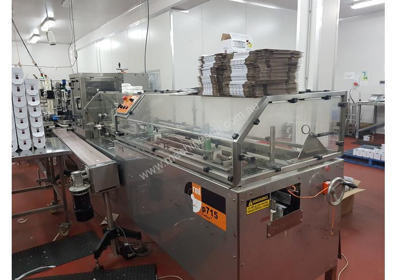 Cartoner and Case Packer