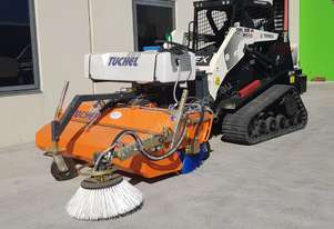 Tuchel Plus 590 Road Sweeper for Wheeled Loaders & Skid