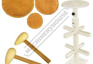 WBH-2K2 Metal Restoration Tool Package Deal Mallets, Sand Bags & Stand