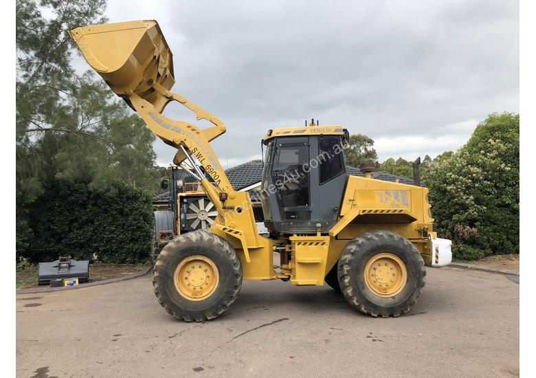 12T WHEEL LOADER 133HP A/C Cab Computer Scales