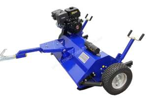 ATV FLAIL MOWER / MULCHER WITH 15HP ENGINE TOW BEHIND UTV, UTE, QUAD