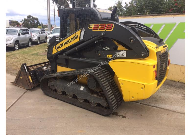 2016 New Holland C238 Track Loader