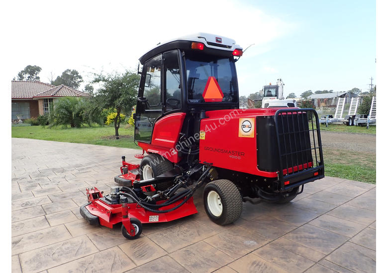 Used Toro Groundmaster 4010d Wide Area Mower In Austral