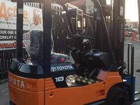 TOYOTA ELECTRIC FORKLIFT 1.8 TON 2017 MODEL BATTERY 5.5M LIFT - picture0' - Click to enlarge
