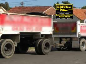 2004 DAF CF-85 Tipper & Tipper Dog Trailer. TS452 - picture2' - Click to enlarge