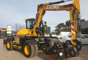 2016 JCB HYDRADIG 110W WHEELED EXCAVATOR WITH LOW 513 HOURS AND TILT HITCH