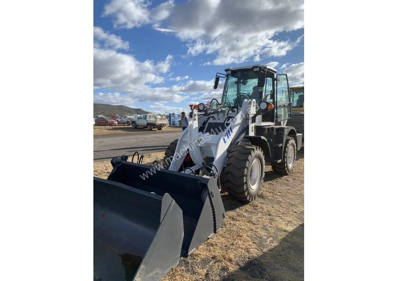 2019 UHI Wheel Loader 2T Capacity 100HP Hyd Pilot Control Free 3 Buckets Spare Tyre