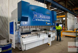 New Yawei 300-4100 CNC7 pressbrake with servo driven hydraulic system. Arriving in stock September.