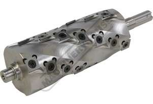 SHC6-28 Spiral Cutter Head with Carbide Inserts 4 x Spirals with 28 Carbide Inserts Suits PT-6 Plane
