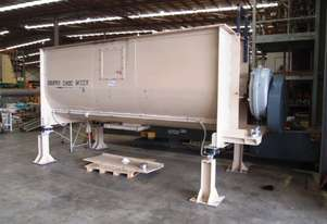 Twin Ribbon Mixer, Capacity: 6,000Lt