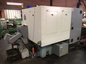 Quick Tech CNC production lathe with barfeed - picture1' - Click to enlarge