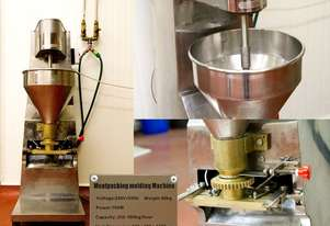 Meatpacking Molding Machines (2 units), Meat mincer, meat mixer, vacuum packaging