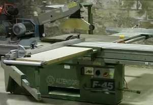 Altendorf F45 Panel Saw & Dust Extractor