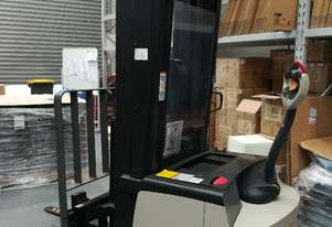 Electric Crown Walkie Reach Stacker. 4.87M Reach and 1.5T lift capacity