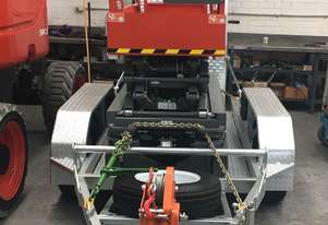 SKYJACK SJIII 3219 ELECTRIC SCISSOR LIFT TRAILER PACKAGE