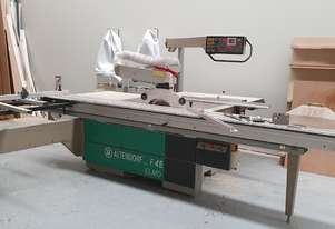 Altendorf F45 ELMO Panel Saw with Electronic Rip fence