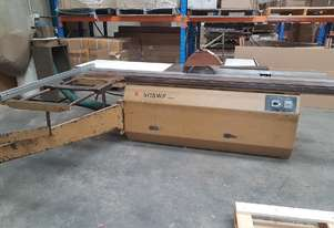 SCM Panel Saw 3.2m table 3-phase good working condition