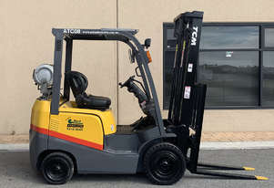 TCM 1800kg LPG Forklift with 3750mm Two Stage Mast