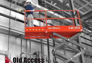 New/Demo Skyjack 19' Scissor Lift Specials - Warranty applies