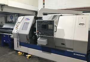 CNC Lathe Twin Spindle Twin Turret